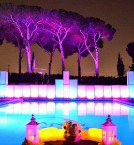 Feste Private in Piscina a Roma