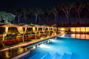 piscina per ricevimenti a roma