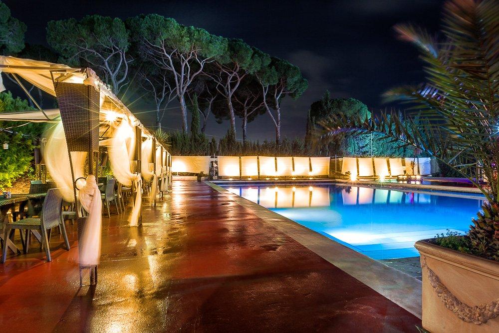 locali con piscina per eventi privati a roma